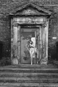 2012. Dispossessed. The Nude in the Irish Landscape. Ella Rose in Dublin. Photo Eamonn Farrell